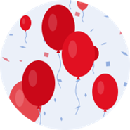 Metro Bank Red Balloons icon