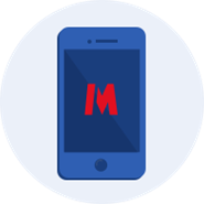 Metro blue smartphone version 2
