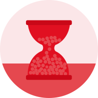Red Hourglass icon