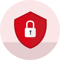 Red Security Icon
