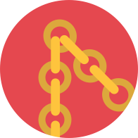 Useful links chain icon